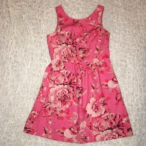 The Limited Pink Floral Dress - X